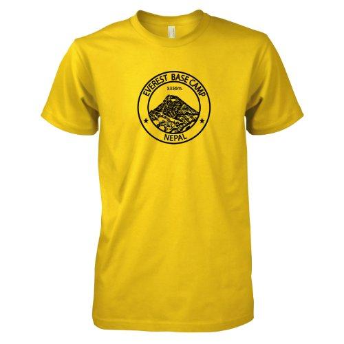 TEXLAB - Everest Base Camp Nepal - Herren T-Shirt Gelb