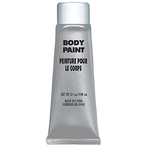 Preisvergleich Produktbild Amscan Party Perfect Team Spirit Body Paint,  Silver,  8.25 x 4