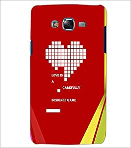 PrintDhaba Quote D-2891 Back Case Cover for SAMSUNG GALAXY J5 (Multi-Coloured)
