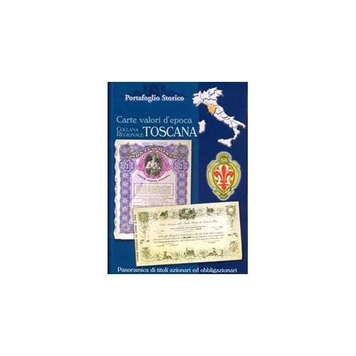 Toscana. Carte Valori D'epoca