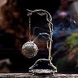 Chinois Zen brûleur d'encens suspendu aromathérapie poêle à disque four à bois de santal