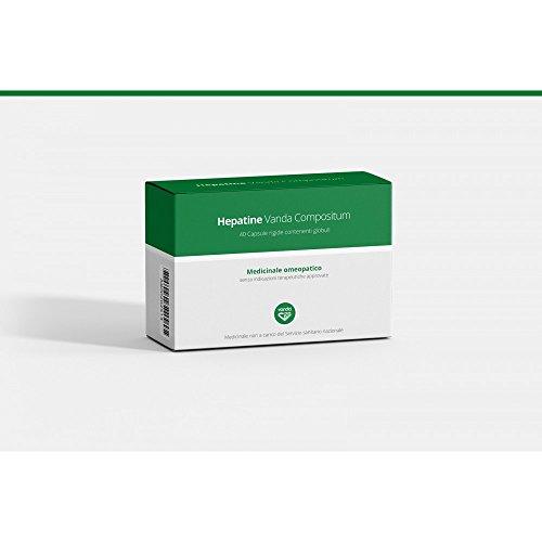 Vanda Hepatine Vanda Compositum Integratore Alimentare 40 Compresse