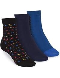ThokkThokk 3er Pack Mid-Top Socken Tijuana/Midnight/Art Deco GOTS Fairtrade