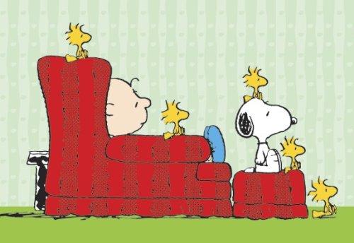 Close Up Peanuts Charlie Brown, Snoopy & Woodstocks - Poster Großformat (100cm x 70cm) + Geschenkverpackung. Verschenkfertig!