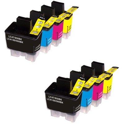 Prestige Cartridge LC900 / LC950 8 Cartucce d'Inchiostro Compatibile per