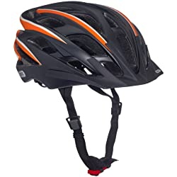 Abus 137150 - S-FORCE_Pro_black_orange_M Casco S-FORCE Pro black orange talla M