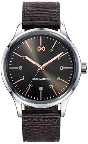 Mark Maddox Mens Analogue Quartz Watch with Nylon Strap HC7101-57