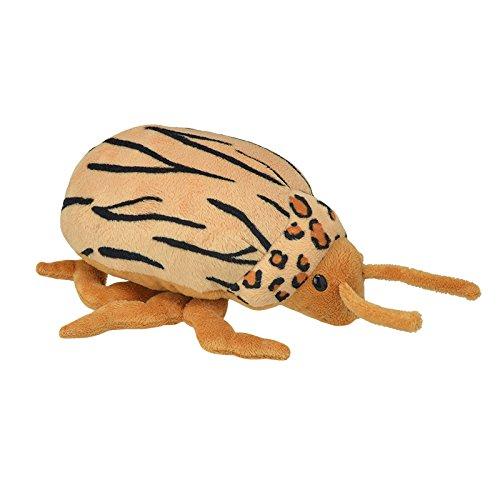 Wild Planet- All About Nature-25cm Escarabajo Patata-Hecho a Mano, Peluche Realistico, (K8195)
