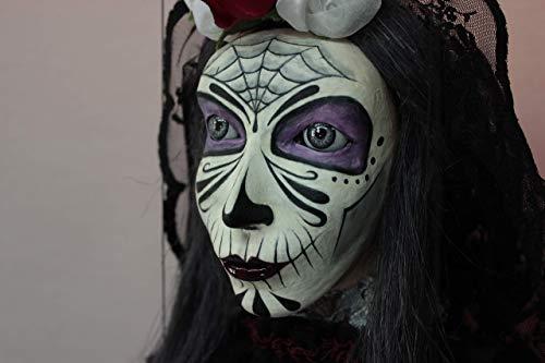 Marioneta Catrina#1títere marionette puppet ooak