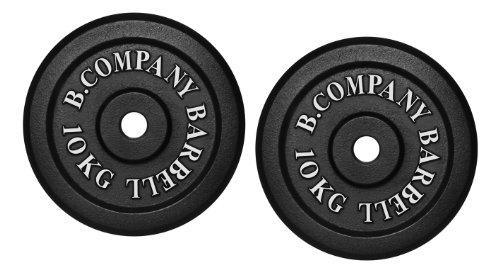 Guss 20,0Kg (2x10,0) Hantelscheiben Hantel Gewichte Scheiben Hanteln 30/31mm