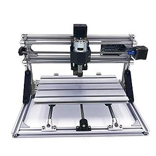 Hengyuanyi zerlegte Packung Mini Cnc 3018 Pro + 5500mw Laserkopf Cnc Graviermaschine PWB-Fräsmaschine Holzschnitzmaschine Diy Mini Cnc-Fräser mit Grbl-Steuerung L10010