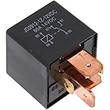 MagiDeal Relé Cerrado 5-pin 12V 40A Herramienta Manual de Coche Auto