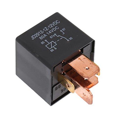 MagiDeal 12V/80A Relais SPDT Schliesser Arbeitsstromrelais Schaltrelais 4-pin für Lkw Auto