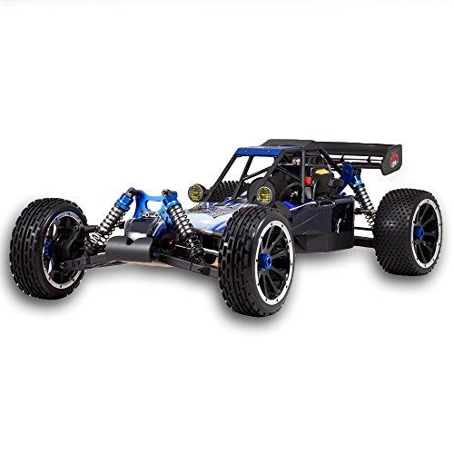 RC Auto kaufen Buggy Bild 3: Redcat Racing Rampage DuneRunner V3 4x4 Gas Buggy (1/5 Skala), Blau/Schwarz*