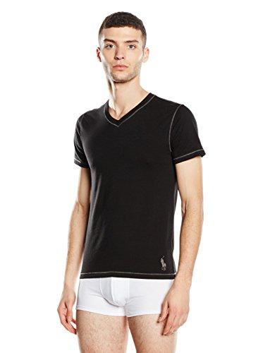 Ralph Lauren T-Shirt à Manches Courtes Noir Taille M