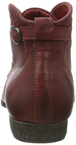Think! Damen Ebbs Desert Boots Rot (Vino 36)