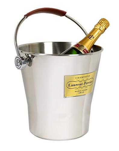Champagnerkühler mit Ledergriff (6 Flaschen) – Champagne Laurent Perrier - 2