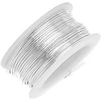 Beadalon–artística alambre calibre 228yd-non-tarnish plata, otros, multicolor