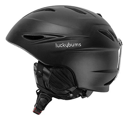 lucky-bums-bambini-alpine-serie-casco-nero-50-52-cm