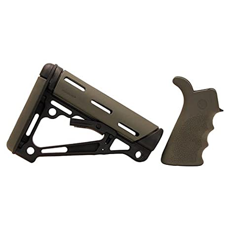 Hogue AR Kit - OverMolded Grip & Buttstock - Commercial