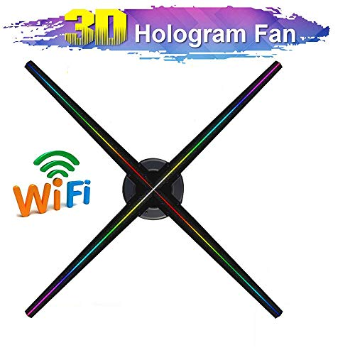 ZYLFN LED 3D Holo-Projektor Hologram Spieler Werbung Maschine-Anzeige 3D-Hologram WiFi Werbung Displayer LED Fan Ausstellung Projektor Geschäft, Geschäft, Geschäft