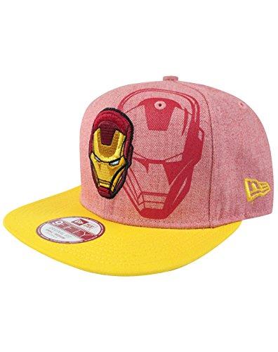 unisex-adulte-new-era-iron-man-chapeau-s-m