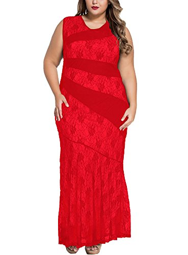 Cfanny - Robe - Cocktail - Femme Rouge - Rouge
