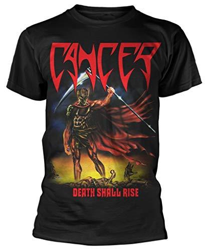 Cancer 'Death Shall Rise' (Black) T-Shirt (Large)