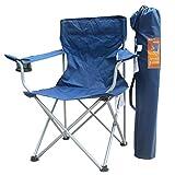WBHD Silla De Camping Plegable con Bolsa Silla Playa Taburetes de Acampada Ultraligera Silla de Pesca Deportiva con Apoyabrazos Y Bolsa de Transporte 2 Colors para Senderismo Caza