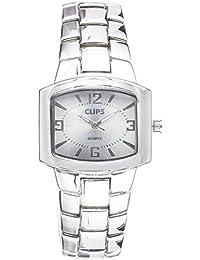 Clips 554-2602-18 - Reloj de pulsera para mujeres, color plata