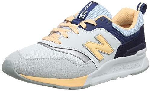 New Balance Damen 997H Sneaker, Blau Platinum Sky, 41 EU
