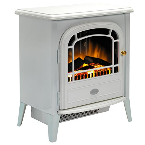 41 yS1U9FsL. SS500  - Dimplex CVL20E Courchevel Electric Stove with Optiflame Effect, 2 kW, 230 W, White