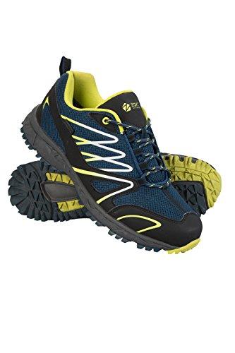 Mountain Warehouse Enhance Wasserfeste Laufschuhe für Herren - Atmungsaktive Freizeitschuhe, weiche Wanderschuhe, strapazierfähige Herrenschuhe - Schuhe für den Alltag Petrolblau 44