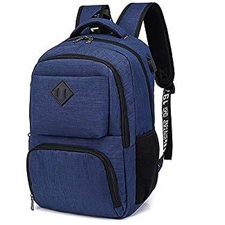 41 yS6X7dIL. SS324  - Hotchy Mochila para Ordenador portatil 15.6 Pulgadas USB Mochila de Portátil Bolso Impermeable Bolsa Viajes para Colegio Viaje Negocios, Diario, Ocio,Estudiantes/Hombre