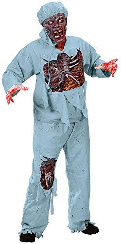 Zombie Doktor infizierter Arzt Kostüm für - Zombie Doktor Für Erwachsene Kostüm