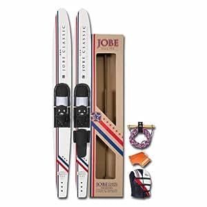 Jobe Unisex Classic Paket 67-inch Wasserski–Weiß