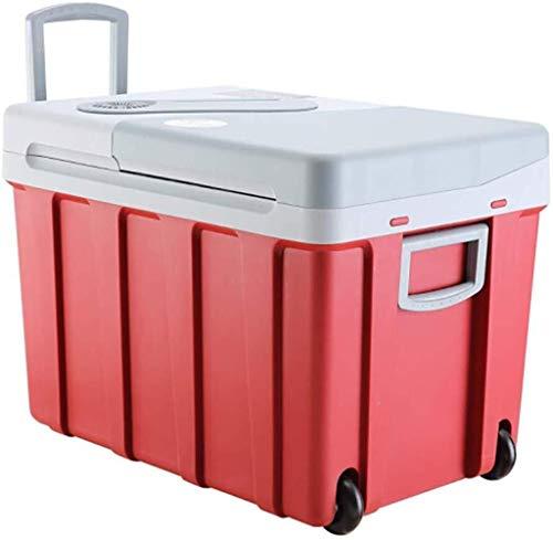 Retro Mini Kühlschrank Großvolumige Tragbare Mute Des Autoselbstfahrer Büro Schlaf Frische Mini-Kühlschrank, Getränke Milch Medizin Isolierung Kleine Kalte Und Warme Box