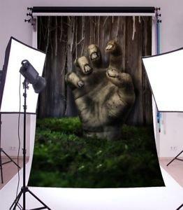 MG Universal 90x150cm Halloween Horror Hand Scene Background Photography Backdrop Props Kit
