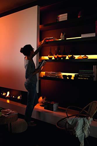 41-yU-fcYwL [Bon Plan Netatmo] Philips Hue Ruban Lumineux Lightstrip White And Color Ambiance de 2Mètres, Bande Flexible Lumineuse Contrôlée Par Smartphone - Lampe Led à Variation de Couleurs - Fonctionne avec Alexa