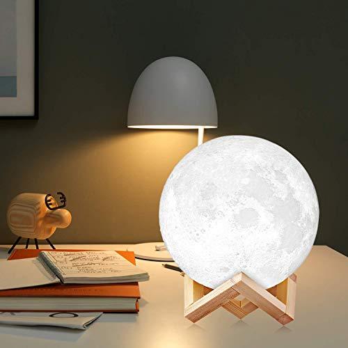 Zoom IMG-3 3d luna lampada led agm