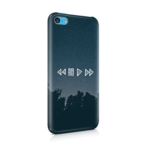 You Are What You Listen To Custodia Posteriore Sottile In Plastica Rigida Cover Per iPhone 7 Plus & iPhone 8 Plus Slim Fit Hard Case Cover Player Buttons
