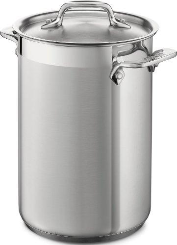 All-Clad 59905 Stainless Steel Dishwasher Safe Asparagus Pot with Steamer Basket Cookware, 3.75-Quart, Silver by All-Clad Cookware - All Clad Stainless Steel Steamer