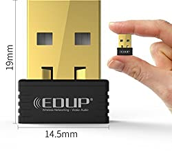 Edup N8553 Mini Wireless Wi-Fi Nano USB Adapter Dongle WiFi Dongle