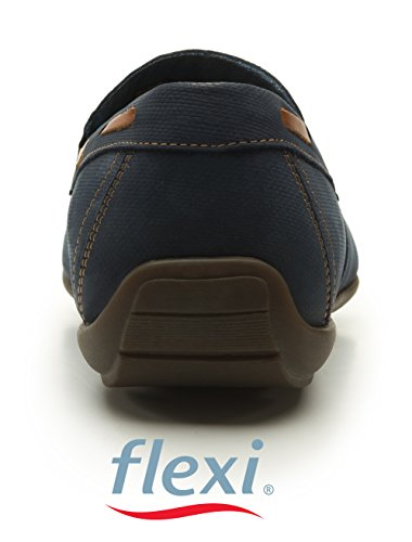Scarpe Uomini Blu 40 Per Mocassini Avevano Flexi tqza55