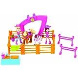 Polly Pocket X7175 Horsin' Around Doll Playset