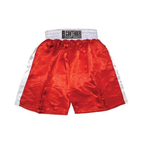 Contender Fight Sports Unterhose, Damen Herren, Rot-Weiß, Medium
