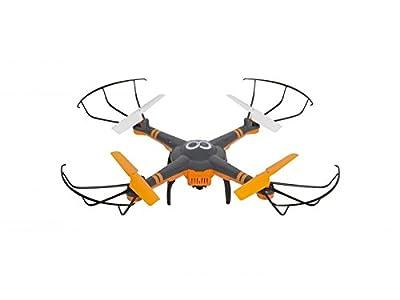 GoClever gcdhd Drone HD Cam with Camera, Black/Orange
