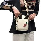 Schulter Umhängetasche Messenger Kleine Quadratische Tasche Badge Bag Little Antlers Umhängetasche...