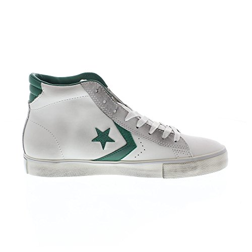 Converse - Converse All Star Herrenschuhe Weiss Pro Leather Mid bianco