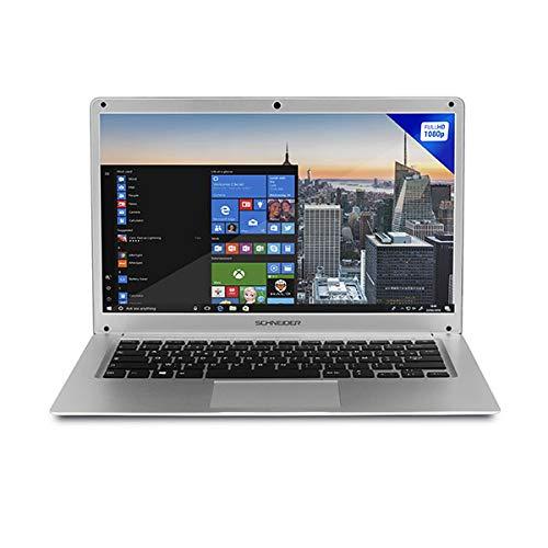 "Schneider SCL141CTP Ultrabook Ordenador Portátil 14,1"" F/HD 2/32GB Atom X5 Z8350 Silver"